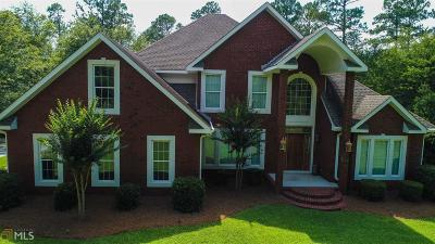 Statesboro Single Family Home New: 4187 Cypress Lake Rd