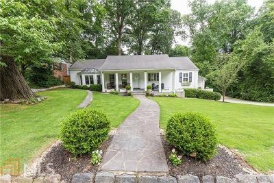 Atlanta Single Family Home New: 1785 Walthall Dr