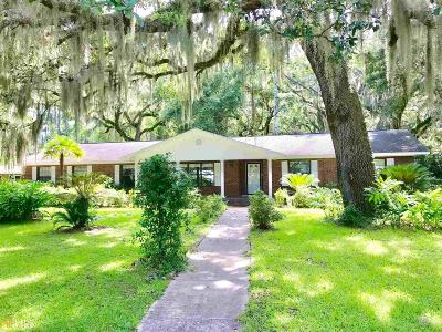 Camden County Single Family Home New: 1706 Mush Bluff Rd