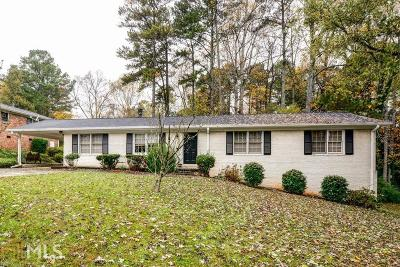 Smyrna Single Family Home For Sale: 480 Foxfire Dr