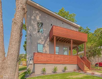 Atlanta Single Family Home New: 162 Wesley Ave