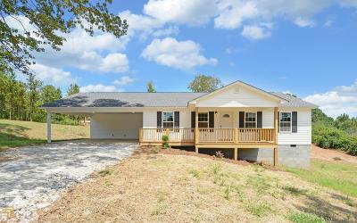 Elbert County, Franklin County, Hart County Single Family Home Under Contract: 3864 Williams Bridge Rd