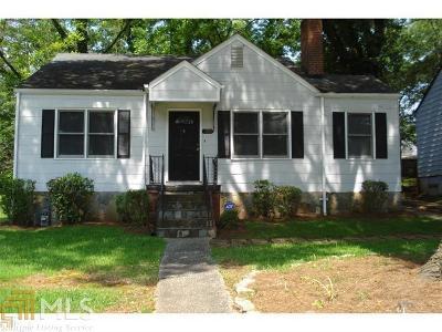 Atlanta Single Family Home New: 390 Hooper