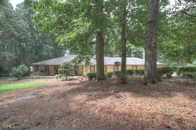 Conyers Single Family Home New: 2630 Honey Creek #6.45 acr