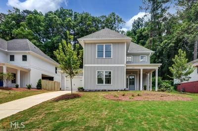 Dekalb County Single Family Home For Sale: 3101 Bay St