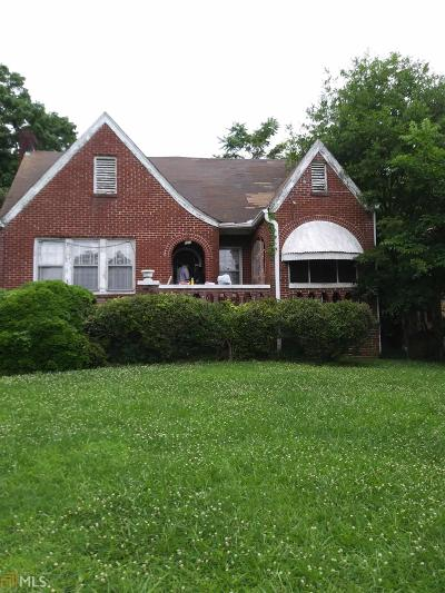 Atlanta Single Family Home New: 198 Joseph E Lowery