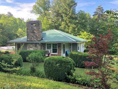 Blairsville Single Family Home For Sale: 676 Bitter Creek Rd