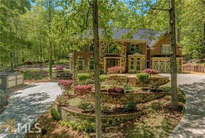 Kennesaw Single Family Home For Sale: 4955 Burnt Hickory Rd