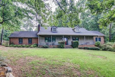 Conyers Single Family Home New: 1646 Smyrna Rd