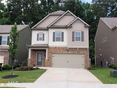 Acworth Single Family Home New: 112 Freedom Dr #813