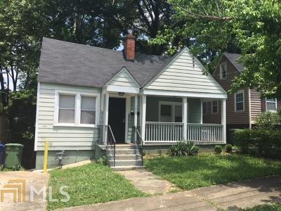 Atlanta Single Family Home New: 1013 Washington Heights Ter