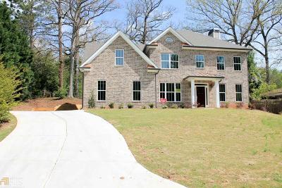Atlanta Single Family Home New: 2086 Capehart Circle