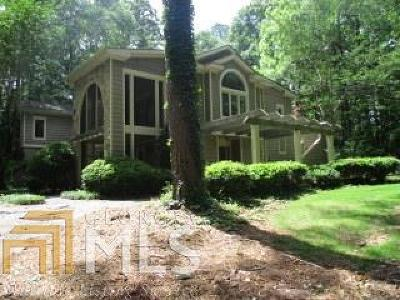 Griffin Single Family Home New: 545 N Pine Hill Rd