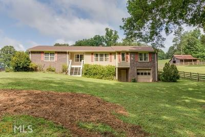 Hiram Single Family Home Under Contract: 320 Lynn Dr