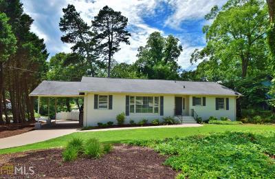 Gainesville Single Family Home New: 1323 Riverside Dr