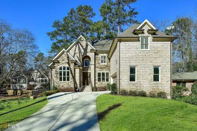 Atlanta Single Family Home New: 20 W Belle Isle