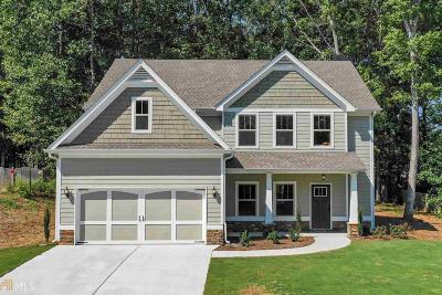 Douglasville Single Family Home New: 701 Sweetwater Bridge Cir