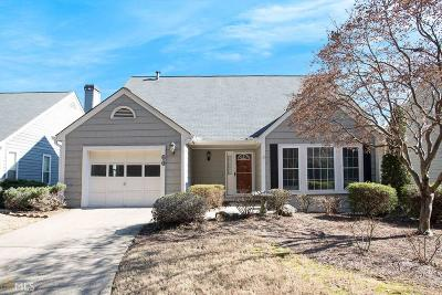 Roswell Single Family Home Under Contract: 60 Mill Pond Rd