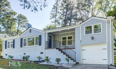Decatur Single Family Home For Sale: 2271 Eastway Rd