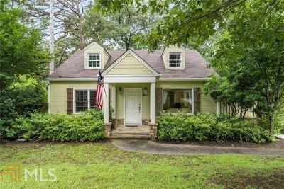 Atlanta Single Family Home New: 3732 Clairmont Rd