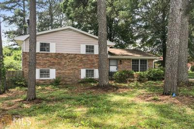 Clayton County Single Family Home For Sale: 6502 Allatoona Rd