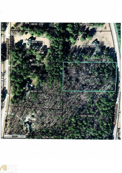 Oxford Residential Lots & Land For Sale: Mt Zion