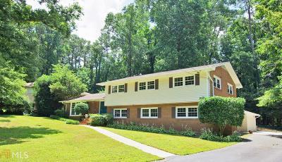 Atlanta Single Family Home New: 3261 Chase Rd