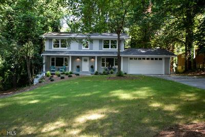 Atlanta Single Family Home New: 3252 Alton