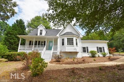 Monroe Single Family Home New: 1653 Snows Mill Rd