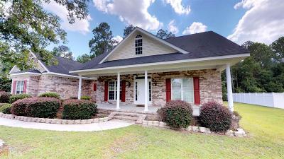 Statesboro Single Family Home New: 152 Blue Ridge Dr