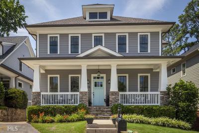 Smyrna Single Family Home For Sale: 1116 Parkview Pl