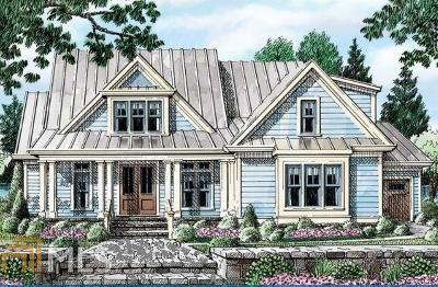 Woodstock Single Family Home New: 3036 Trickum Rd