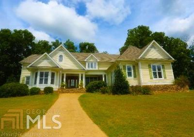 Haddock, Milledgeville, Sparta Single Family Home For Sale: 281 Turtle Shoals Rd