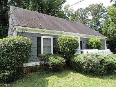 Stone Mountain Single Family Home New: 4773 Fellsridge