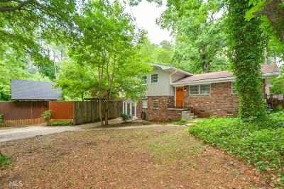 Atlanta Single Family Home New: 2168 Capehart Cir