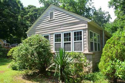 Stone Mountain Single Family Home New: 6018 Rockbridge Rd