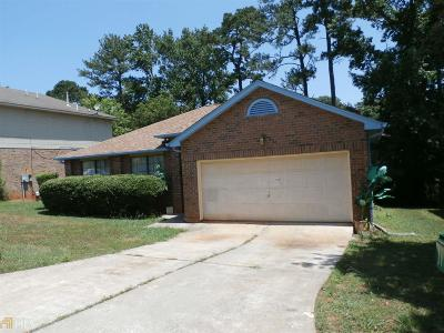 Stone Mountain Single Family Home New: 4047 Creek Station Ln