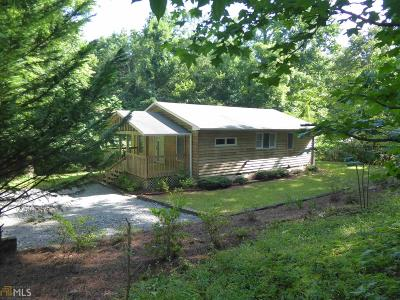 Dawsonville Single Family Home For Sale: 66 Hickory Trl