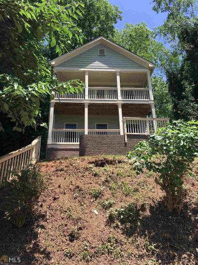 Atlanta Single Family Home New: 962 McDaniel St