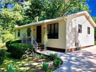 Clayton County Single Family Home Under Contract: 833 Oak Dr