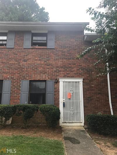 Fulton County Condo/Townhouse For Sale: 6354 Shannon Pkwy #16E