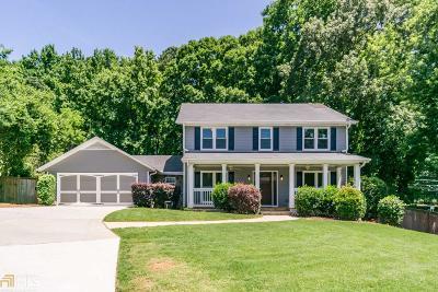 Single Family Home New: 690 Hembree Rd