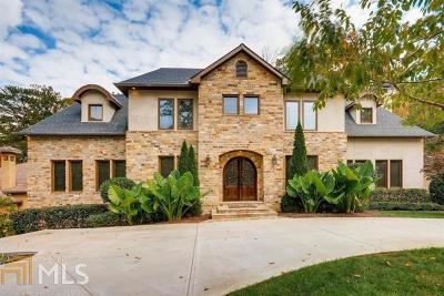 Atlanta Single Family Home New: 3715 Peachtree Dunwoody Rd