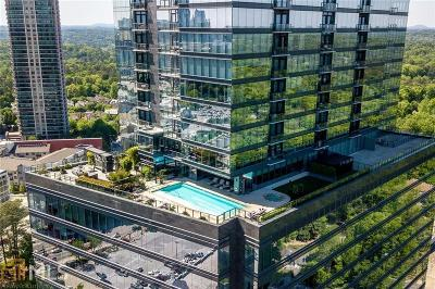 Ritz Carlton Residences Condo/Townhouse For Sale: 3630 Peachtree Rd #2104