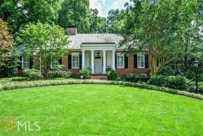 Brookhaven Single Family Home For Sale: 1183 Bellaire Dr