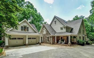 Buckhead Single Family Home For Sale: 1586 Cave Rd