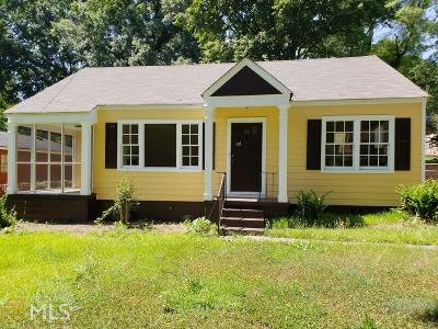 Hapeville Single Family Home For Sale: 304 Maple