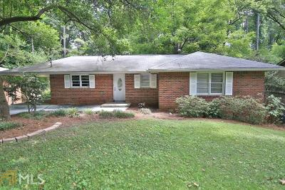Atlanta Single Family Home New: 1954 McJenkin Dr