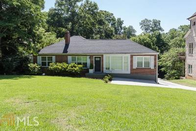 Brookhaven Single Family Home For Sale: 1690 N Druid Hills Rd