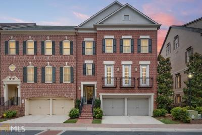 Cobb County Condo/Townhouse For Sale: 2257 Edgartown Ln #6